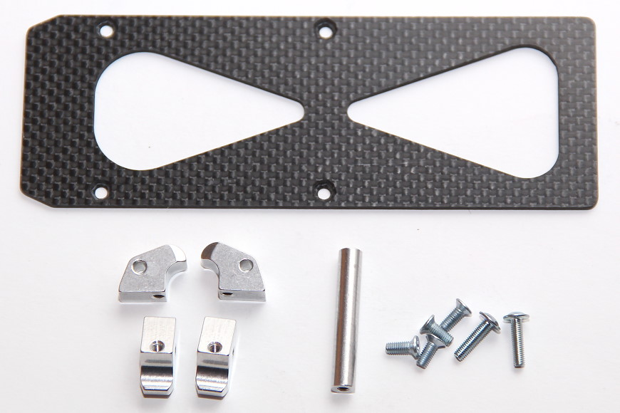 Henseleit TDF - Ritzelwelleneinheit und Motor: Schnellwechselakkuhalter (für 6S und 7S Akkus)