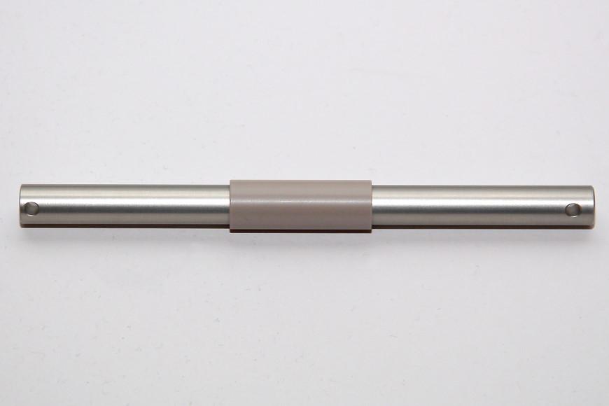 Henseleit TDF - Rotorwelleneinheit: Hauptrotorwelle aus hochfestem Aluminium mit Buchse