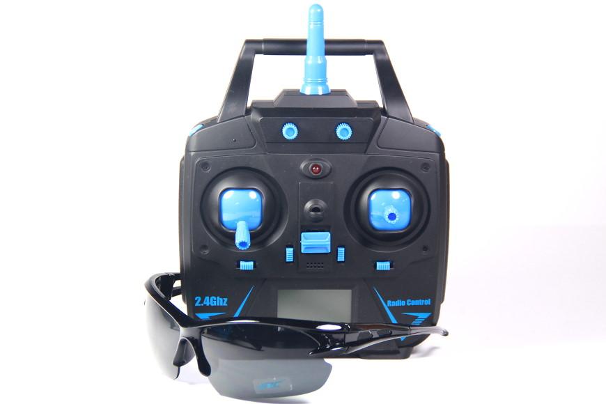 JJRC H31 Quadrocopter - 2,4 GHz Sender und Sonnenbrille