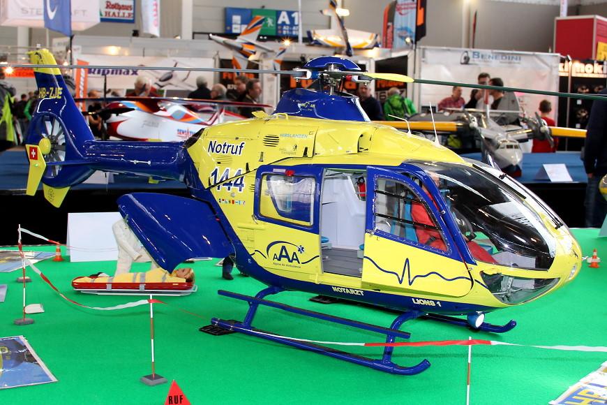 Faszination Modellbau 2017 Friedrichshafen: Scale RC Helikopter