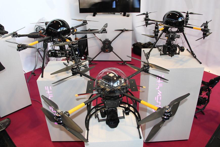 Faszination Modellbau 2017 Friedrichshafen: RC Multikopter / Drohne