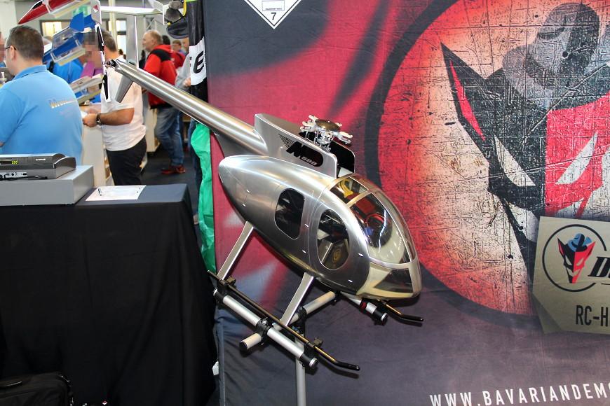 Faszination Modellbau 2017 Friedrichshafen: RC Helikopter