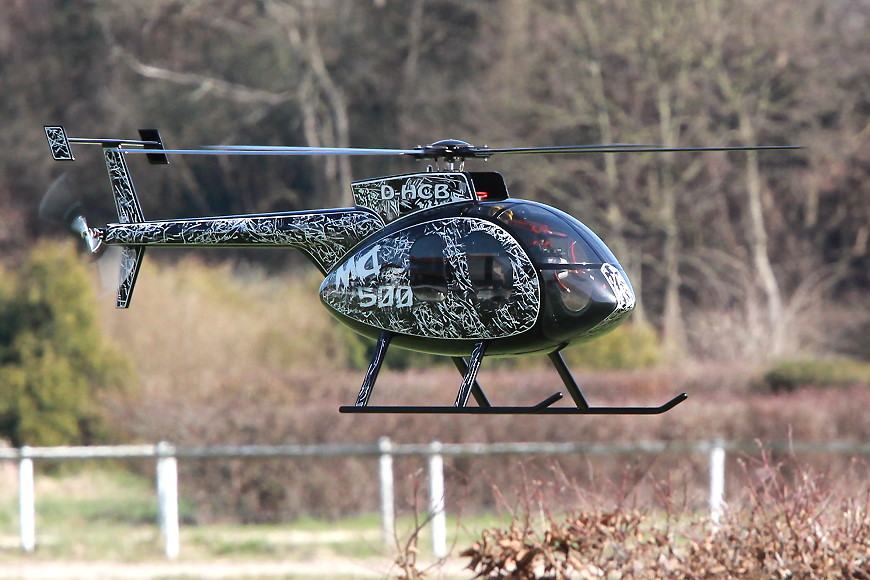 ROTOR live 2017: Hughes 500 (Helicenter Berlin)