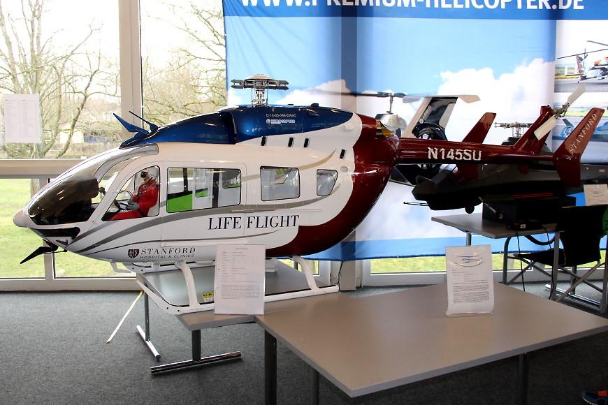 ROTOR live 2019: Alterbaum Premium Helicopter EC 145